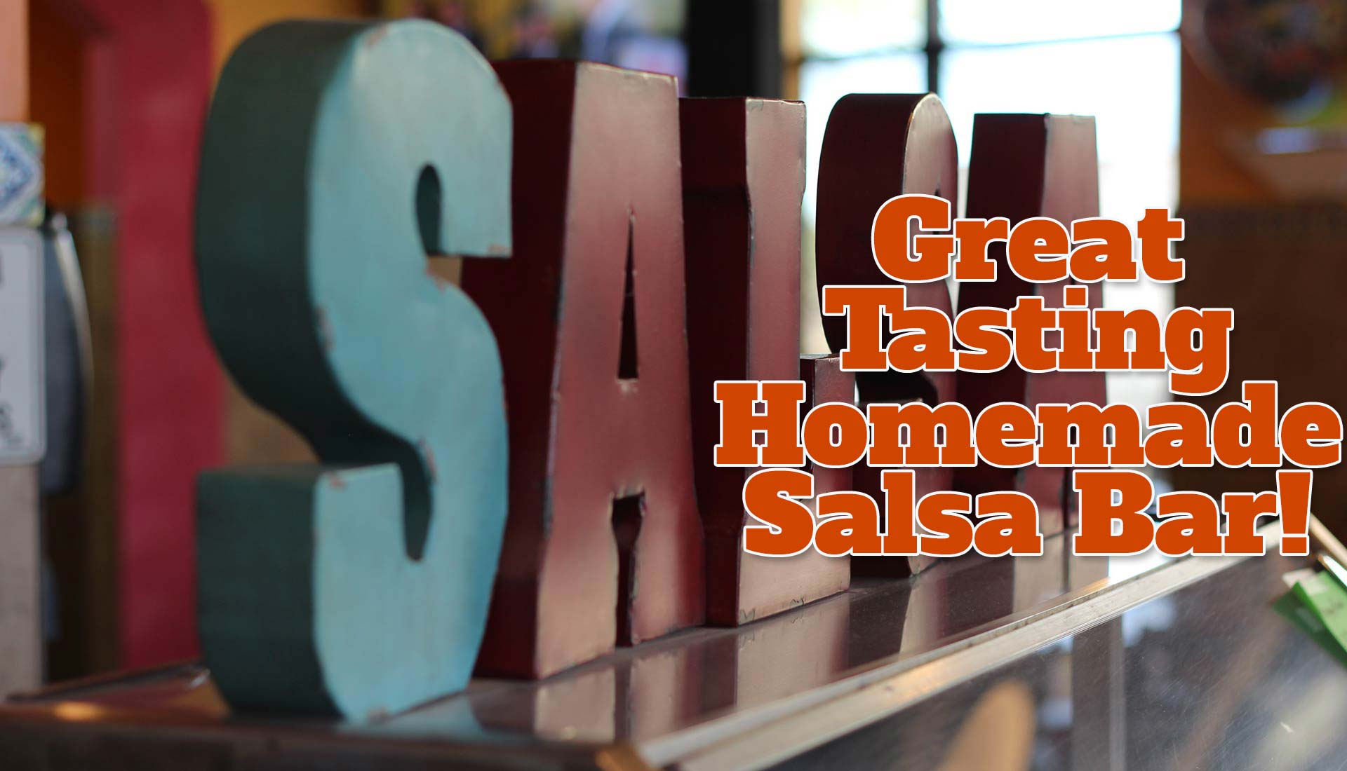 Salsa Bar Small