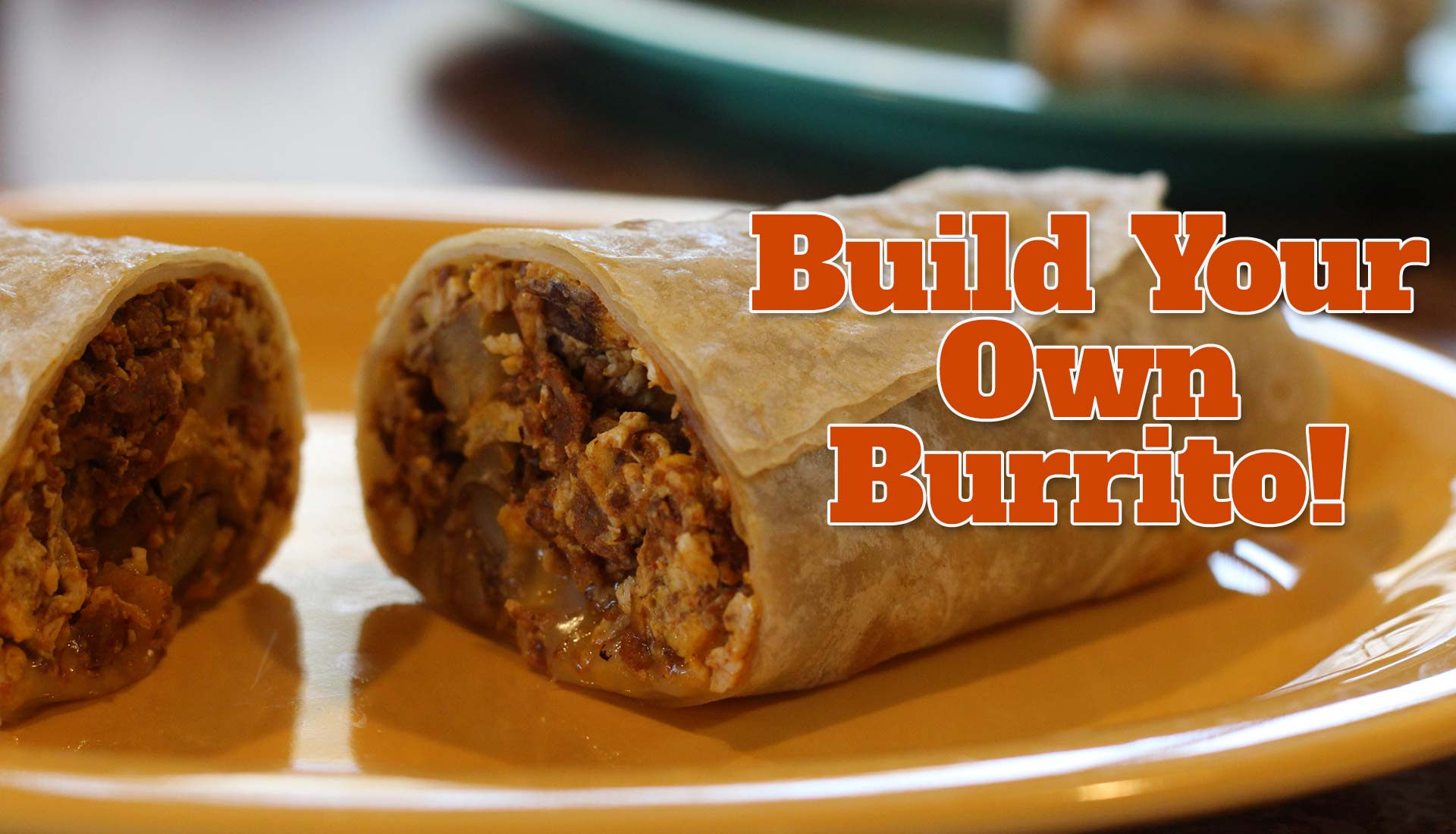 Build Your Own Burrito small
